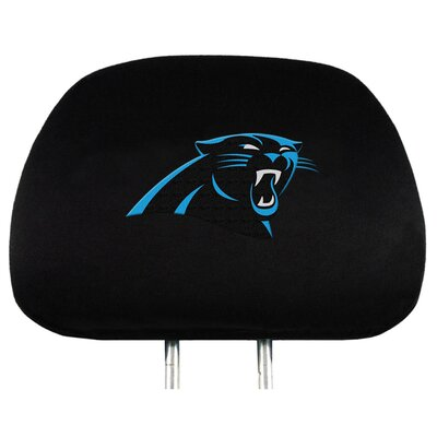 NFL Headrest Cover NFL Team: Carolina Panthers