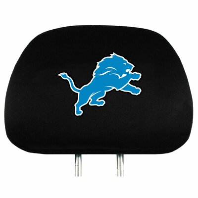 NFL Headrest Cover NFL Team: Detroit Lions
