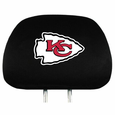 NFL Headrest Cover NFL Team: Kansas City Chiefs