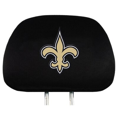 NFL Headrest Cover NFL Team: New Orleans Saints