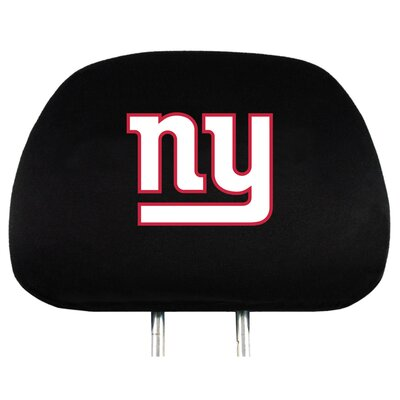 NFL Headrest Cover NFL Team: New York Giants