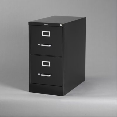 CommClad 2-Drawer Commercial Letter Size  File Cabinet - Finish: Black at Sears.com