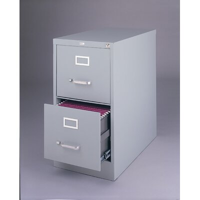 CommClad 2-Drawer Commercial Letter Size  File Cabinet - Finish: Light Gray at Sears.com