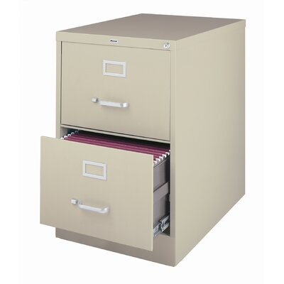 2-drawer Commercial Legal Size File Cabinet Finish: Putty