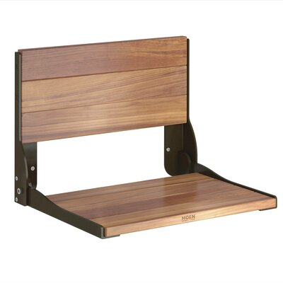 Bath Safety Fold Down Teak Seat
