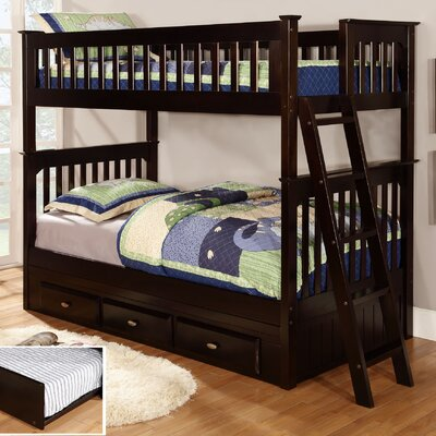 Discovery World Furniture Twin over Twin Bunk Bed (2 Pieces) at Sears.com