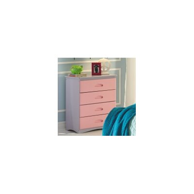 Discovery World Furniture Dollhouse 4 Drawer Chest