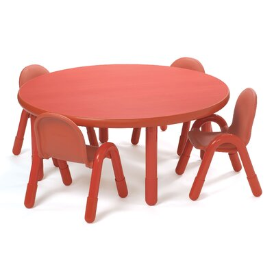"""Angeles 48"""" Round Baseline Tables - Color: Shamrock Green, Height: 12"""" at Sears.com"""