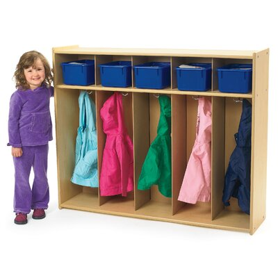 Angeles Value Line 1 Tier 5-Section Toddler Locker AVL1120