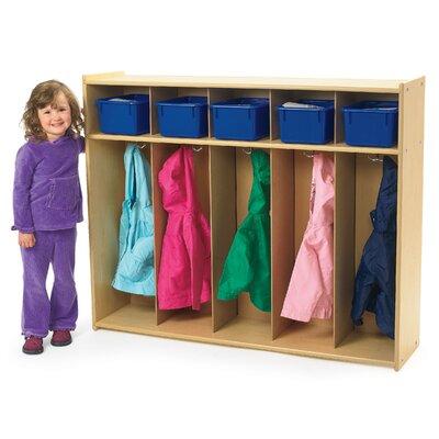 Angeles Value Line 1 Tier 5-Section Toddler Locker AVL1120