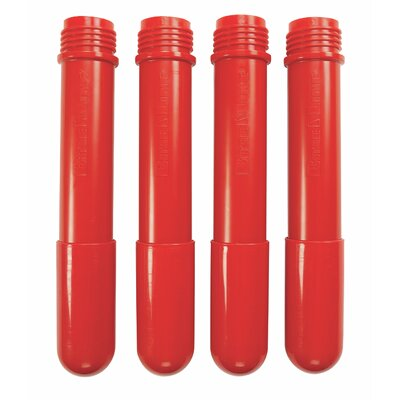 BaseLine Additional Table Leg Color: Candy Apple Red, Height: 22