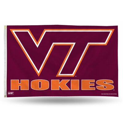NCAA Banner Flag NCAA Team: Virginia Tech Hokies FGB340202