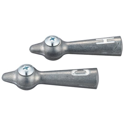 Lever Laundry Cold and Hot Faucet Handles with Screws