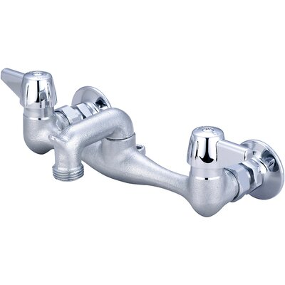 Double Handle Centerset Garage Faucet