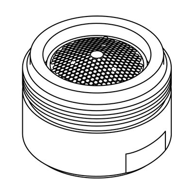 0.81-27 Male Thread 0.5 GPM Spray Pattern Aerator