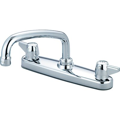 Double Handle Centerset Standard Kitchen Faucet