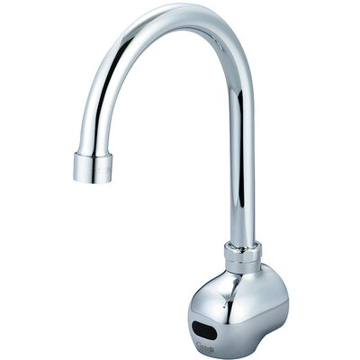Single Hole Gooseneck Wall Mounted Electronic Faucet