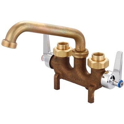 Double Handle Centerset Laundry Faucet