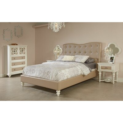 Paris Upholstered Platform Bed