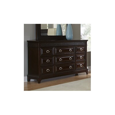 Sonoma 9 Drawer Dresser with Mirror