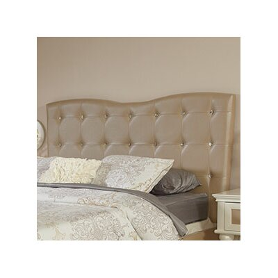 Paris Upholstered Panel Headboard Size: Twin