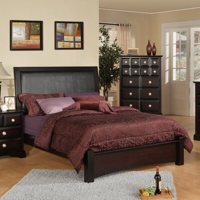 Webster Upholstered Panel Bed