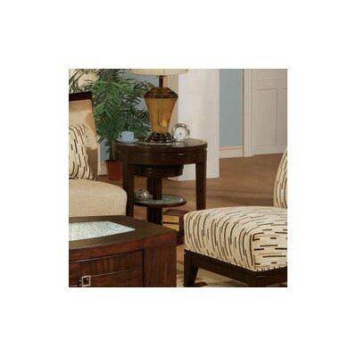 Cheap Najarian Furniture Georgio Nesting End Table in Venge Veneer (Set of 2) (NAJ1079)