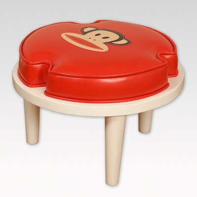 Paul Frank Julius Ottomans Upholstery: Red