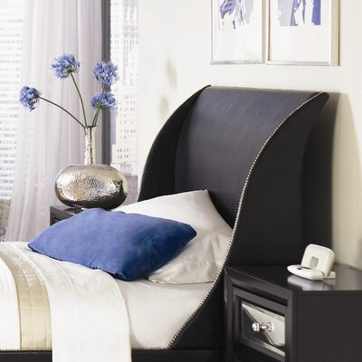 In store financing Reflections Sleigh Headboard Finish...