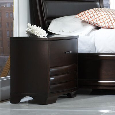 Daytona 2 Drawer Nightstand