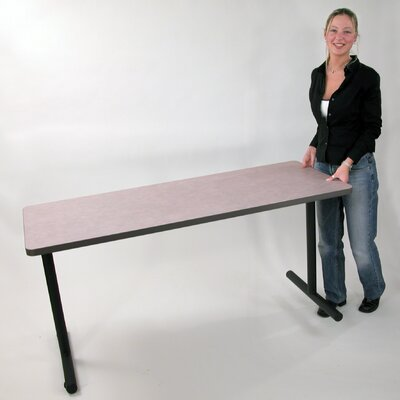 Training Table Finish: Folkstone, Size: 29 H x 60 W x 24 D Product Image 491