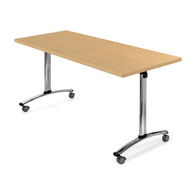 Flipper Training Table Finish: Sugar Maple, Size: 29 H x 54 W x 30 D Product Image 4772