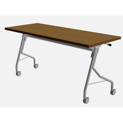 48 W Medley Training Table Size: 29 H x 60 W x 24 D, Finish: Castle Walnut