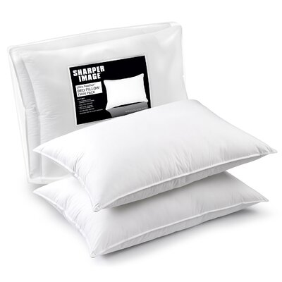 Ultra Feather Pillow Size: 20 D x 36 W