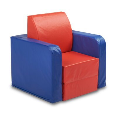 Softzone Convertible Kids Club Chair - Elr-12680 - Living Room Furniture Sets Softzone Softzone Seating ELR-12680