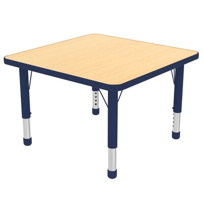 "48"" Square Activity Table ELR-14116-MBL-SB"