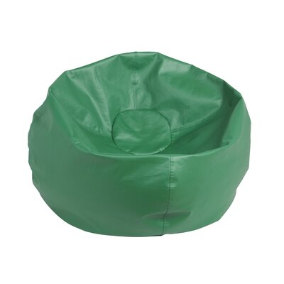 Standard Bean Bag Chair Upholstery: Green