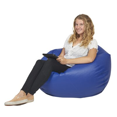 Standard Bean Bag Chair Upholstery: Blue