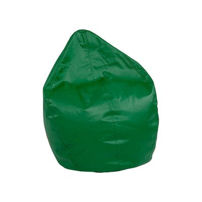 Dew Drop Bean Bag Chair Upholstery: Green