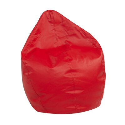 Dew Drop Bean Bag Chair Upholstery: Red