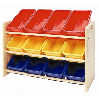 furniture kids furniture storage 3 bin storage toy. Black Bedroom Furniture Sets. Home Design Ideas