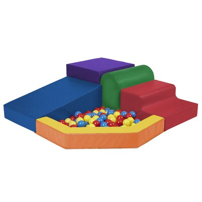 Ecr4Kids SoftZone Primary Climber with Ball Pool at Sears.com