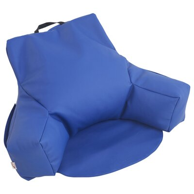 Relax-N-Read Bean Bag Chair Upholstery: Blue