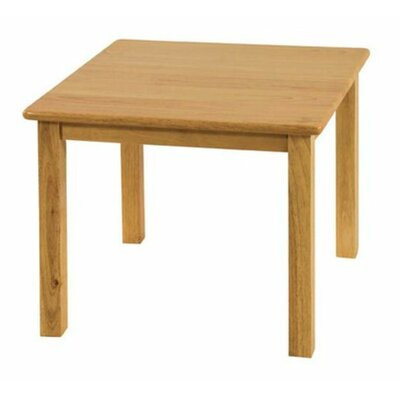 "Square Activity Table Height: 18"", Size: 24"" Square ELR-069"