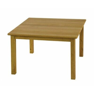 "Square Activity Table Height: 18"", Size: 30"" Square ELR-071"