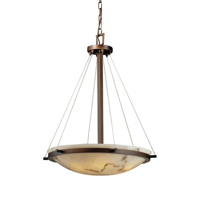 Keyon 6-Light Inverted Pendant Metal Finish: Dark Bronze