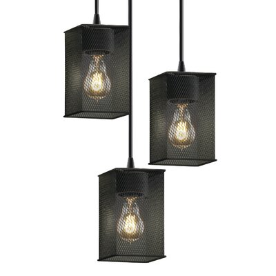 Bennett 3-Light Pendant Finish: Dark Bronze