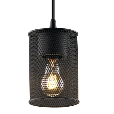 Bennett 1-Light Mini Pendant Finish: Antique Brass
