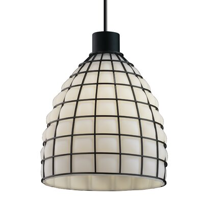 Astor 1 Light Pendant Finish: Matte Black
