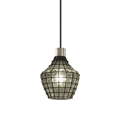 Astor 1-Light Mini Pendant Finish: Brushed Nickel